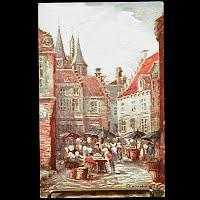 Antique Tuck Postcard, Oilette Bruges