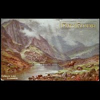 1910 Antique Tuck Postcard, Oilette LLanberis North Wales