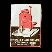 Vintage Automatic Needle Threader with thread Cutter, made in Italy