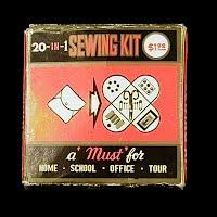 Vintage Sewing Kit, made in Hong Kong 1940's