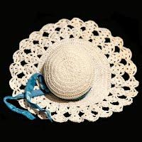Vintage Crochet Pincushion