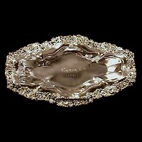 Antique Silver Bread Tray, 1880 Pairpoint Co