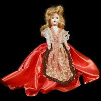 Vintage 1950's Character Doll