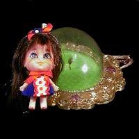 Vintage 1966 Lucky Locket Kiddle, Mattel Inc