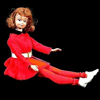 Vintage Midge Doll with original clothes, 1962 Mattel Inc