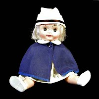 Vintage 1968 Nurse Doll, movable arms and legs with sleep eyes