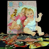 Vintage 1957 Baby Doll Paper, James and Jonathan Inc