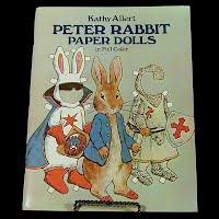 Vintage 1982 Peter Rabbit Paper Doll, Dover Publications