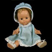 Vintage 1960 Yes and; No Doll, Horseman Dolls