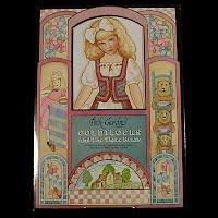 Vintage 1992 Goldilocks and the 3 Bears Paper Dolls, Peck-Grande