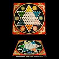 Vintage Pressman Chinese Checkers Game