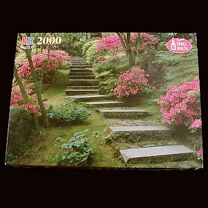 Vintage Portland, Oregon Japanese Garden Puzzle