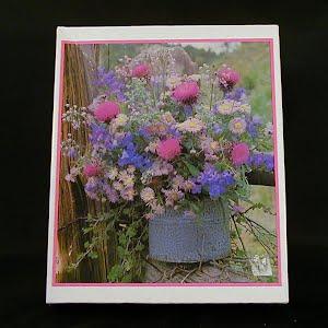 Vintage Wildflower Puzzle, 1979