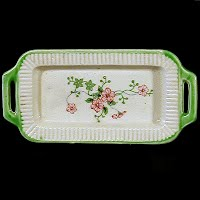 Antique Porcelain Childs Tray, 1930s