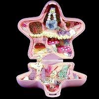 Vintage Fairy Fantasy Polly Pocket, 1 Polly Princess and 1 Polly Fairy, Bluebird Toys 1992