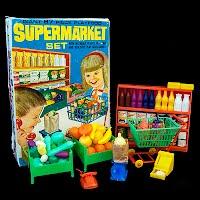 Vintage Super Market Set 1965