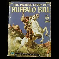Vintage Book: The Picture Story of Buffalo Bill, Jeffery Coe 1954