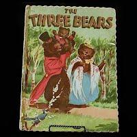 Vintage Book: The Three Bears, 1951