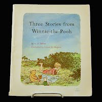 Vintage Book: Three Stories From Winnie -the -Pooh, AA Milne 1966
