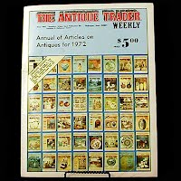 Vintage Book: Annual of Articles on Antiques for 1972, The Antiques Trader Weekly
