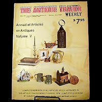 Vintage Book: Annual of Articles on Antiques for 1976 Volume V, The Antiques Trader Weekly