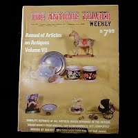 Vintage Book: Annual of Articles on Antiques for 1977 Volume VI, The Antiques Trader Weekly