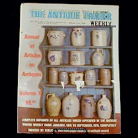 Vintage Book: Annual of Articles on Antiques for 1980, The Antiques Trader Weekly
