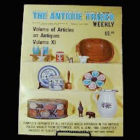 Vintage Book: Annual of Articles on Antiques for 1981, The Antiques Trader Weekly