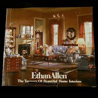 Vintage Book, Ethan Allen the Treasury of Beautiful Home Interiors 86th Edition