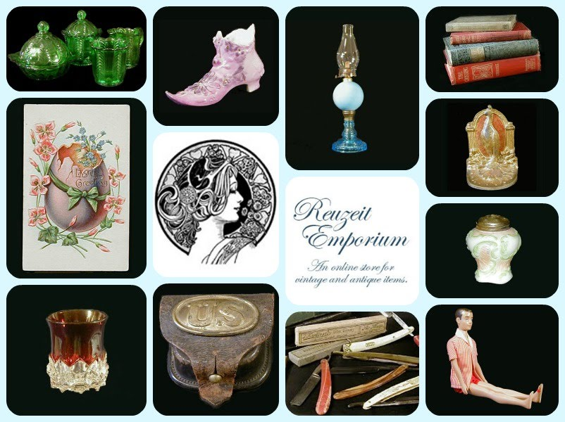 Reuzeit Emporium, online vintage and antique store