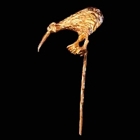 Antique Stick Pin, Kiwi Bird Stick Pin