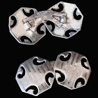 Antique Sterling Silver Cufflinks