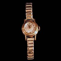 Vintage Enicar Rolled Gold Watch