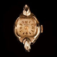 Vintage Sussex Woman Watch Face