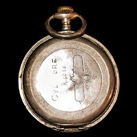 Antique Archimedes Reveil Steel Cased Men's Pocket Watch