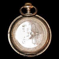 Antique Archimedes Reveil Steel Cased Men's Pocket Watch