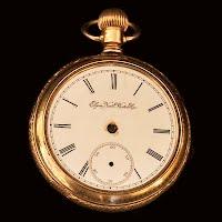 Antique Elgin Pocket Watch Parts