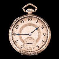 Antique Hamilton Pocket Watch