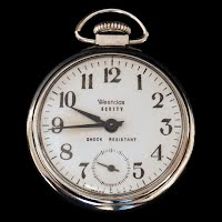 Antique Westclox Scotty Pocket Watch