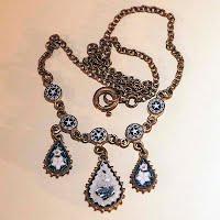 Antique Mosaic Necklace