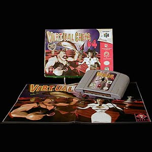 Vintage Nintendo 64 N64 Virtual Chess Game Cartridge