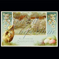 Antique Embossed Easter Post Card, All Joy to You This Eastertide