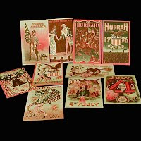10 Postcards, 4th of July from Bicentennial 1976