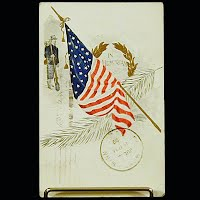 1910 Embossed Antique Postcard, Memorial Day