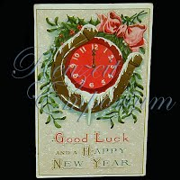 Antique 1912 New Year Post Card