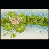 1908 Antique Postcard, St. Patrick's Day