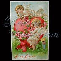 Antique Valentine Post Card