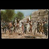 Antique Photochrom Postcard 1913, Episodio Historico