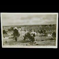 Antique Camp Lee, Quartermaster Center Postcard