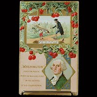 Embossed Antique Postcard, General Washington